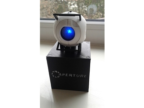 Wheatley (Portal 2) with LED