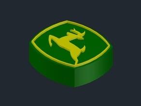 John Deere 3D Logo