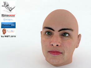 Woman Head by NQT2015