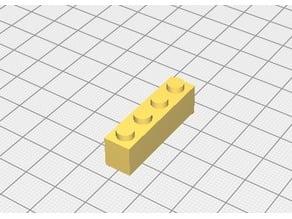 brique lego 1X4