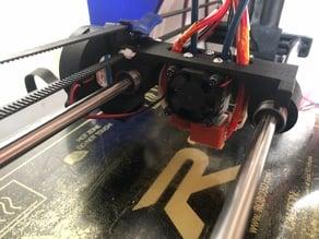 Robo 3D R1+ bowden carriage