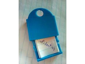 Secret message lock box