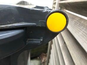bouchon couvercle poubelle / Wheelie Bin Pin