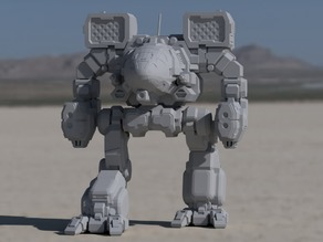 "Timberwolf Prime, AKA ""Mad Cat"" for Battletech"