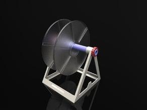 Light, universal, adjustable, modular spool holder + support Dagoma !