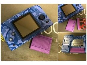 NGPC Neo Geo Pocket Flash Masta 3D Printable Cartridge Shell