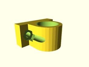 Prusa i3 LM8UU bushing seeger parametric