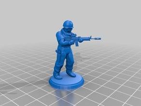 Modern Soldier - Assault Rifle - Type 2