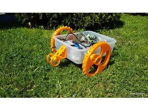 Wheelie bar for robotic lawn mower (Liam)