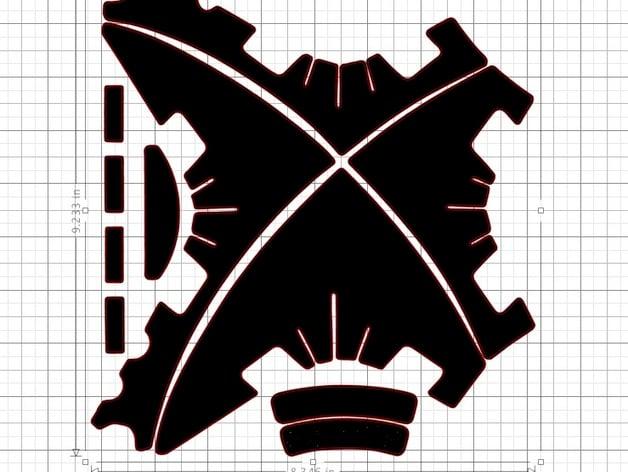 Dji Phantom 3 Decal Wrap Template By Ccbdav Thingiverse