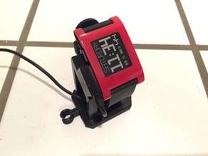 Pebble Watch Stand: Modular Vertical Piece