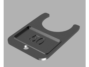 Tormach TTS Tool Holder Number Tag
