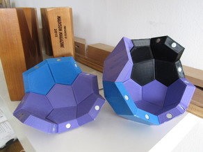 Pentagonal Icositetrahedron Magnetic Tile