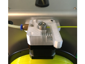 Fabrikator mini v2 extruder for flexible filaments
