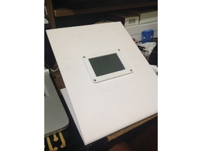 "Raspberry Pi 3 + LCD 3.5"" case"
