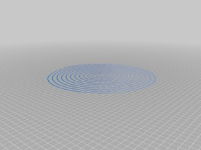 My Customized Spiral Bed Level Test Circular