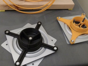 Lazy Susan Bearing Spool Adapter (Version 2)