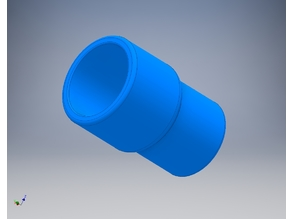 3/4 X 1/2 Reducing Coupling PVC