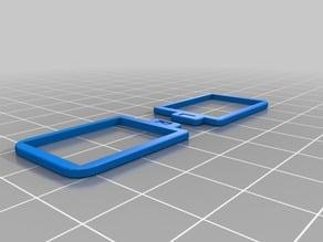 Fatshark lense frame for custom diopter lenses