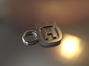 Key Ring Husqvarna