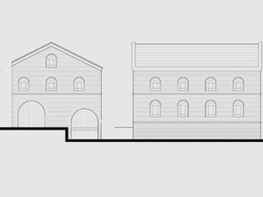 OO/HO Canal Warehouse windows and doors