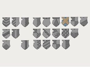 Dominion Crusader MK3 - Freeblade's 'n' Codex shields
