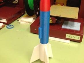 3D printable Model Rocket