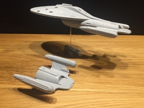NCC-74959 Voyager (alternative Warp-Version) - No Support Cut