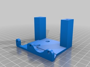 Prusa I3 Direct drive extruder mount