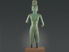 Standing Four-Armed Avalokiteshvara, the Bodhisattva of Infinite Compassion