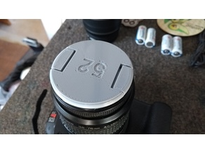 CANON Front Lens Cover - 52mm