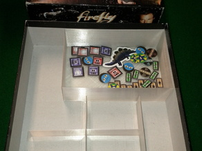 Firefly Boardgame Box Dividers
