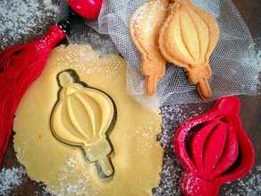 Chinese New Year Lamp Cookie Cutter