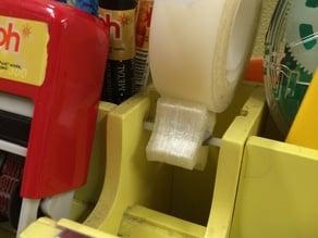 Tape dispenser wheel