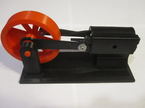 Steam / Compressed Air Engine Model