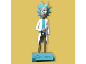 Rick Sanchez Stand and Sign