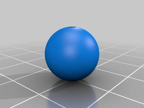 My Customized , Holey Ball 12mmD with whole 2mmD 7mmL
