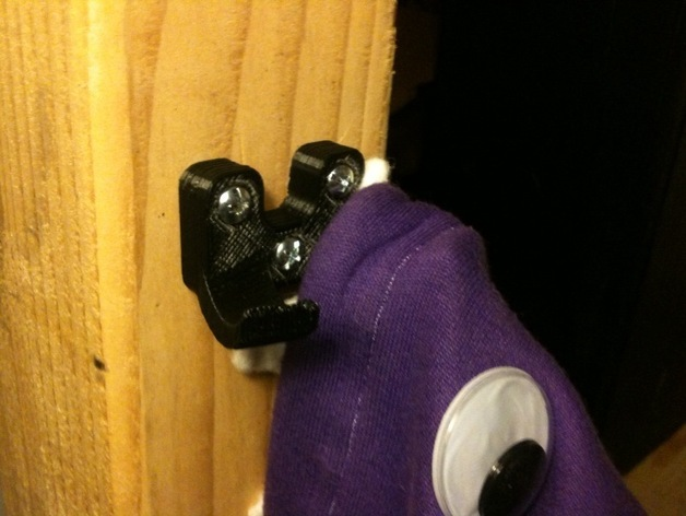 MakerBot coat hook