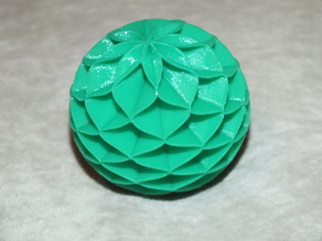 honeycomb paper ball toy