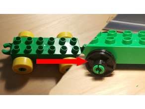 Lego Duplo Railway Wheel