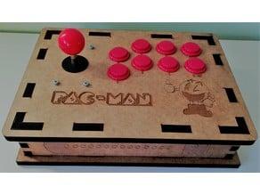 Joystick arcade compatible con Raspberry