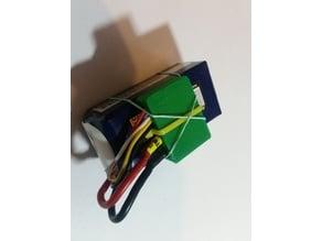 Lipo plug travel insulator