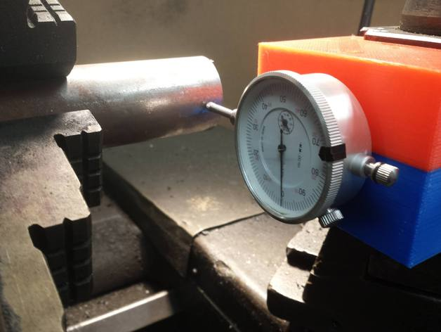 Dial Indicator Mounting In Collet : Lathe qctp dti quick change toolpost dial test indicator