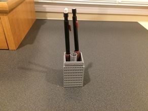 Boston Prudential Tower office supply holder