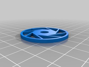 Aperture Science logo record spacer