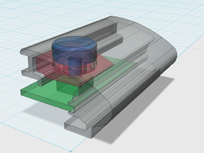 Push button parts for ritto entravox doorbell