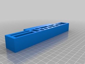 Tool Caddy for Flashforge Creator Pro 3D Printer
