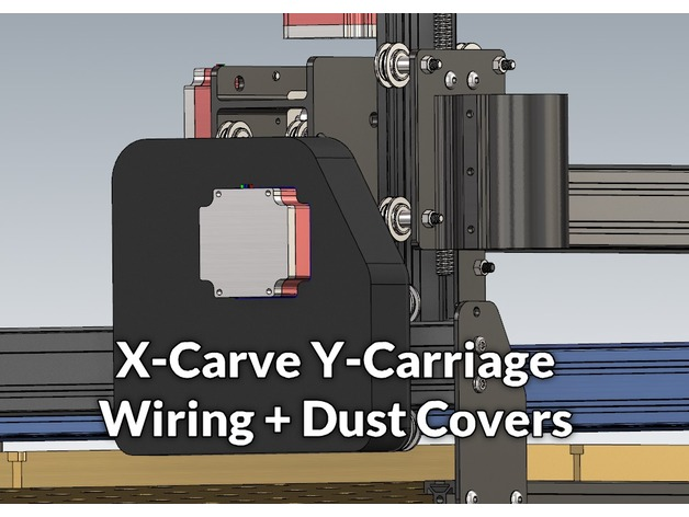 Surprising X Carve Y Carriage Wiring Dust Covers By Lucian151 Thingiverse Wiring Cloud Oideiuggs Outletorg