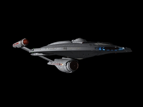 Star Trek - Enterprise Columbia Class Refit Enterprise