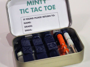 Minty Tic Tac Toe: An Altoid Game